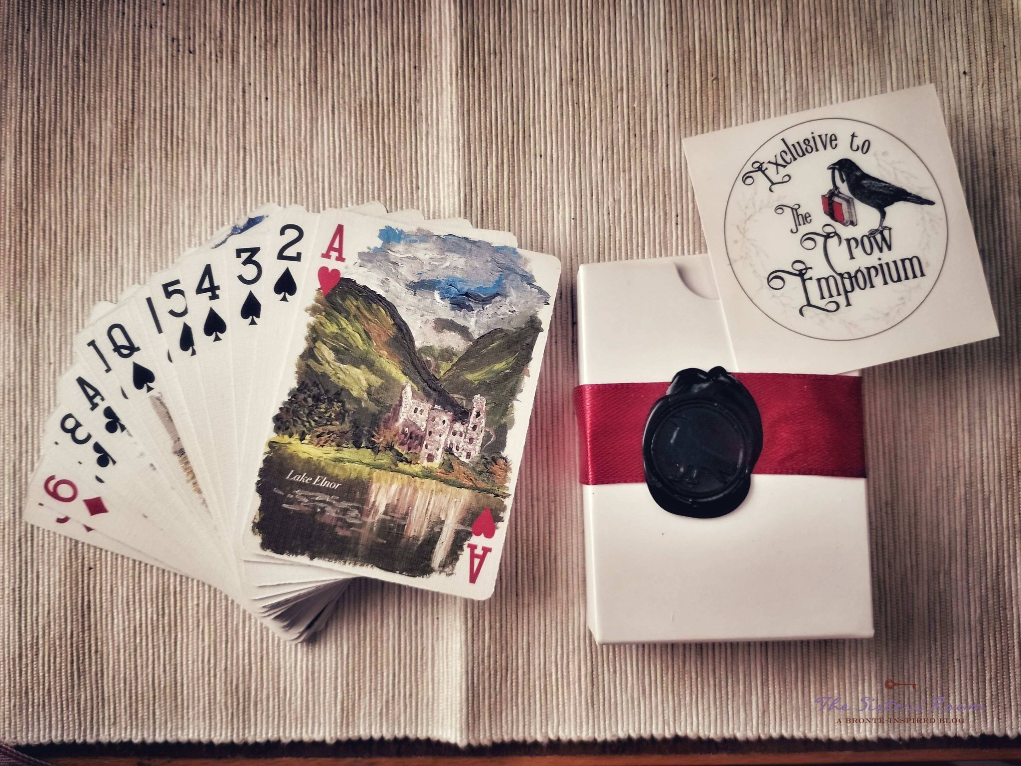 The Crow Emporium carte da gioco