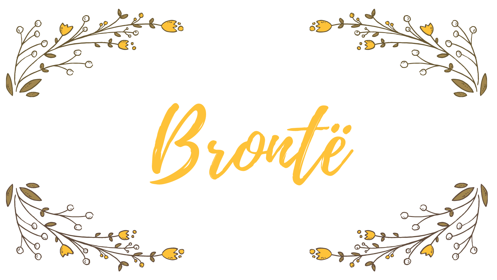 How to pronounce Brontë- a curious literay surname